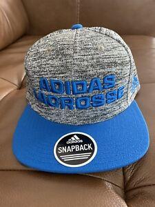 Adidas Lacrosse Snapback Hat New!