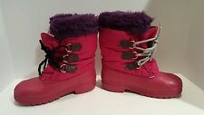 SOREL Winter Kids/ Youth Girls Pink Boots Size 3