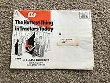1953 Case Tractors special mailer sent from the dealers.