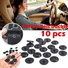 10pcs Universal Clip Seat Belt Stopper Buckle Button Fastener Safety Car Part Re