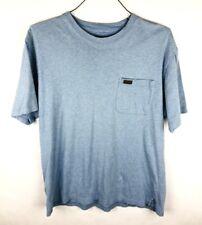 Pendleton T Shirt Mens Size Medium Blue Pocket Short Sleeve 100% Cotton