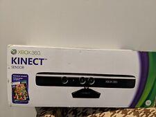 Microsoft XBox360 Kinect Black Motion Camera Sensor Bar Kinect Adventures Bundle