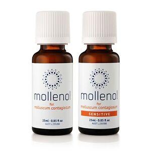 Mollenol & Mollenol Sensitive 2 Pack - Molluscum Contagiosum Treatment