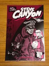 STEVE CANYON 1951 CHECKER BPG MILTON CANIFF'S GRAPHIC NOVEL 9781933160108