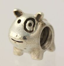 Authentic Pandora Sterling Silver Puppy Dog Spot Bead Charm 790258