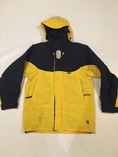 Gill Fact Patch Coast Jacket Mens S Yellow Reflective Waterproof Sailing IN4J