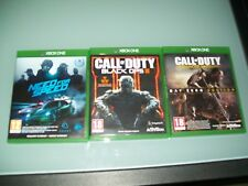Lot 3 jeux X-BOX ONE