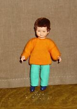 Puppenstubenpuppe, Miniatur 1:12, Caco (Canzler), kleiner Lausbub