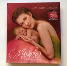 Celine Dion Miracle Coffee Table Book & CD Anne Geddes Celebration of New Life