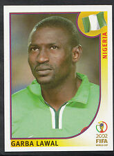 Panini Football - World Cup 2002 - Sticker No 413 - Nigeria - Garba Lawal