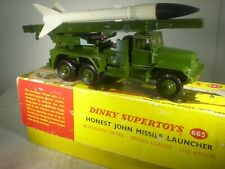 Dinky Toys Military Army Honest John Missile Launcher #665 MINT IN BOX