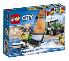 Lego 60149 City 4x4 With Catamaran and