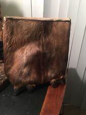 Unique Hoof Fur/suede Handmade Purse