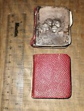 More details for 2 mini common prayer books, 1 with silver front