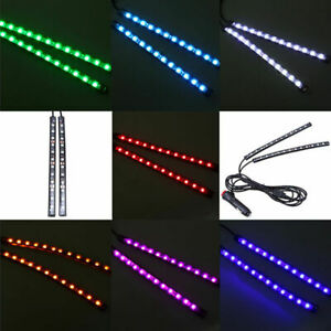 12 LED Car 12V Footwell Interior Floor Decorative Atmosphere Lights Xmas Party