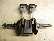 07 Honda FSC600 A FSC 600 ABS Silverwing engine crankshaft crank shaft and rods