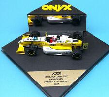 Onyx 320 Dallara - Opel F397 Patrice Gay French F3 Champion 1:43