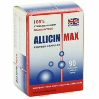 Allicin Max 100% Pure Allicin 90 Powder Caps New