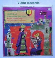 TV 34019S - MEDIEVAL & RENAISSANCE MUSIC FOR IRISH / MEDIEVAL HARPS - Ex Con LP