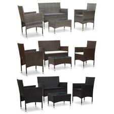 Rattan Garden Sofa Set Outdoor Lounge Bench Couch Patio Table Chairs Furniture
