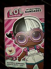 LOL Band Aids Bandages Glitter Shapes 20 In Box Kids Adults
