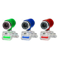 480P USB Drive Free HD Rotatable Web Camera Clip for Laptop Computer Webcam B3