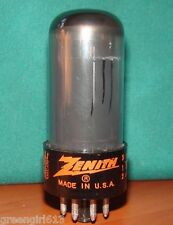 ZENITH 6V6 Vacuum Tube Very Strong Results  5200 µmhos  ~  52 mA