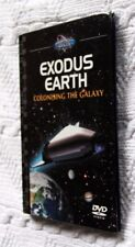 EXODUS EARTH: COLONISING THE GALAXY (BOOK+DVD) R-ALL, LIKE NEW, FREE SHIPPING