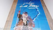 LA TRACE !  affiche cinema  , bd dessin gir moebius :  titre blanc
