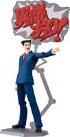 figma  Ace Attorney PHOENIX WRIGHT (Ryuichi Naruhodo) Figure F/S w/Tracking# NEW