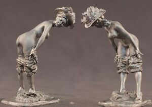 tin toy soldiers unpainted  Pegaso Girl 80mm  Belle Epoque