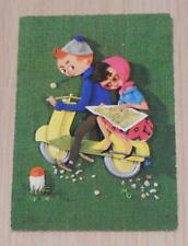 VESPA SCOOTER POSTCARD c1970s? Printed in Holland