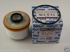 Toyota Hilux diesel fuel filter suits KUN16/26 with 3.0l 1KD-FTV eng 2005-2013