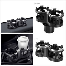 Car SUV Multifunction Seat Double Cup Holder Drink Bottle Organizer Storage Box