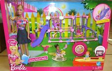 Brand New Barbie I can be Nursery School Teacher Playground Set