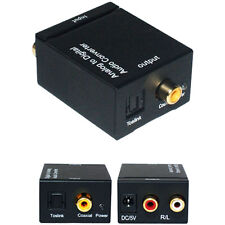 2 Rca analógico al digital coaxial/optical Barra De Sonido Adaptador Convertidor Cable De Audio