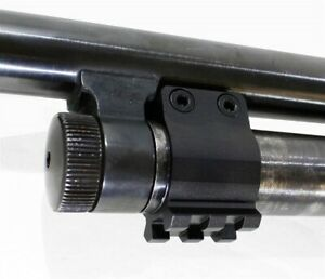 Mossberg 500 maverick 88 accessories mount weaver rail base picatinny hunting bk