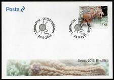 Faroe Islands 2015 Sepac-Knitted Art Fdc