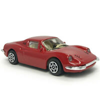 1:43 1969 Vintage Ferrari Dino 246 GT Sports Model Car Diecast Toy Vehicle Red