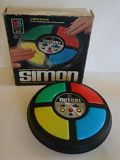 Vintage 1978 SIMON SAYS Game for Parts or Repair Electronic Toy USA With Box