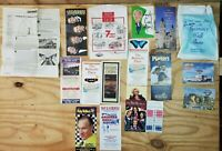 Lot of 90's Tourist Travel Maps Brochures Canada Missouri BC Branson Guides