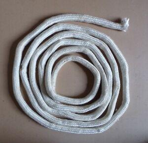 § joint tresse fibre de verre chauffage insert cheminée poele ronde 20 mm