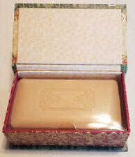 PUNCH STUDIO-ORANGE & CLOVE Soap-PEACE Keepsake Box- triple milled 10 oz. bar