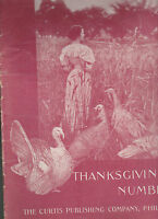 Ladies Home Journal November 1898 Thanksgiving Grace S Richmond Mary Wilkins