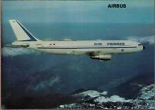 (wjh) Airplane Postcard: Air France, Airbus A300B2