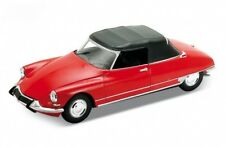 Citroen DS 19 Cabriolet Soft Top rouge 1/24 Welly