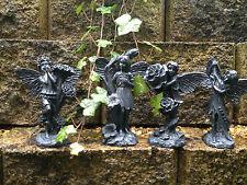 SALE -Beautiful Garden Fairy Set of 4 Different Garden Ornaments-Indoor/Outdoor