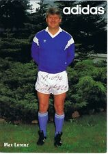 Max Lorenz (Vizeweltmeister 1966), sign. AK