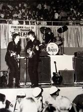 Old Beatles 2-Sided 11X14 Pin-up Poster Paul & George