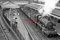 PHOTO  GWR 43XX NO 6316 1959 AT WREXHAM GENERAL RAILWAY STATION UP MINERAL CL.K